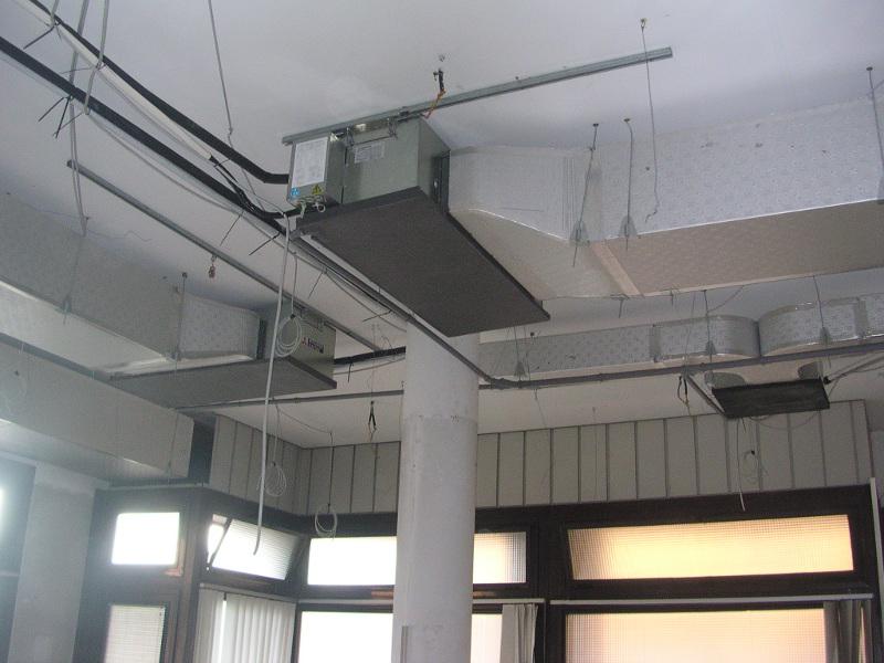 Condizionamento e condizionatori de pantz impianti for Impianto condizionamento canalizzato